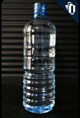Envase rosca  agua azul